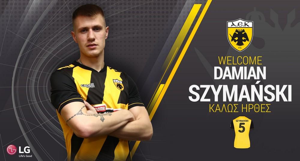 Damian Szymański zostaje w AEK-u!