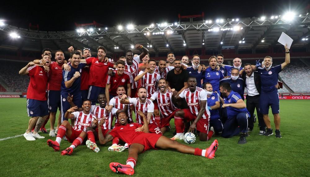 Olympiakos Pireus mistrzem Grecji 2020!!