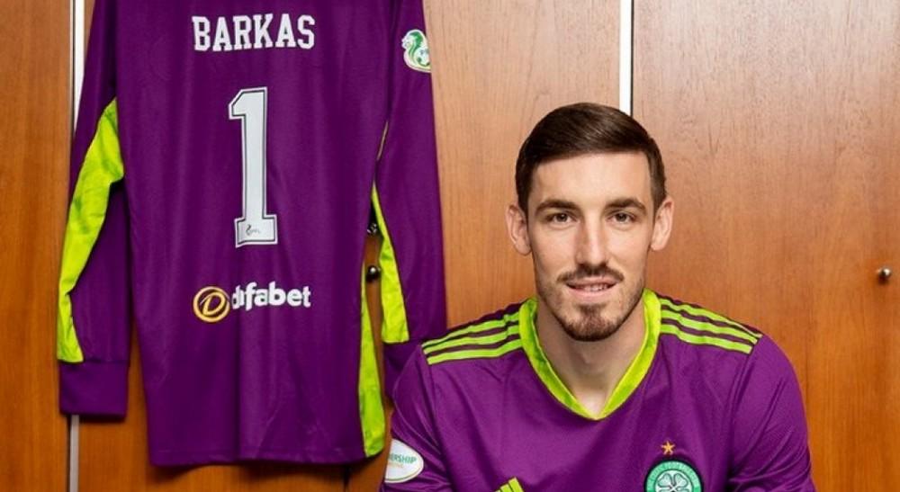 Vasilis Barkas w Celtic FC!