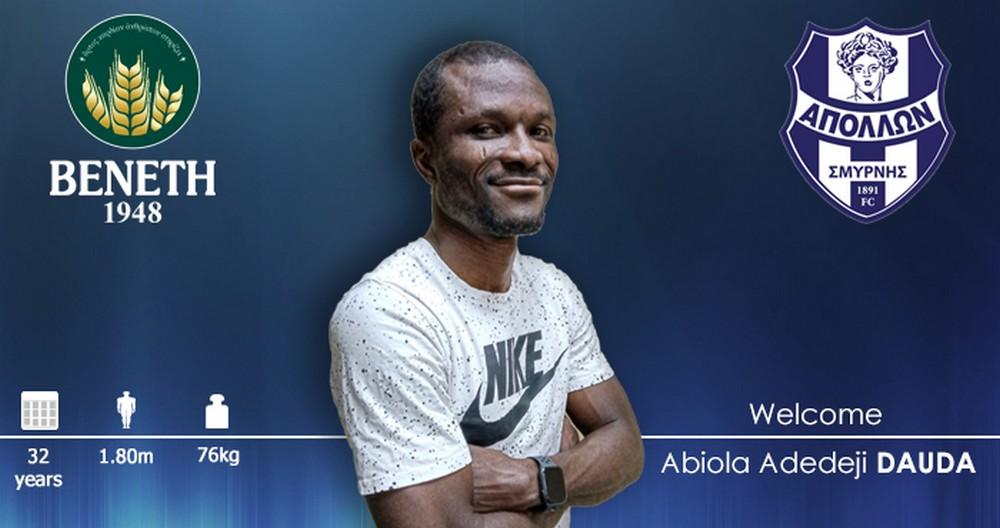 Abiola Dauda nowym napastnikiem Apollonu!