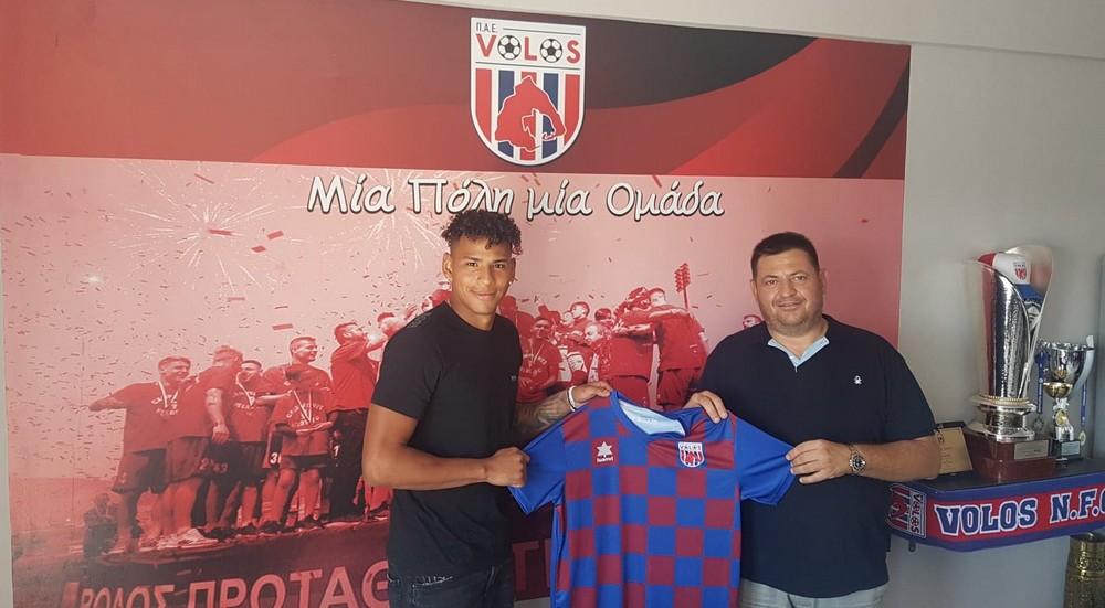 Juan José Perea w Volos NFC!