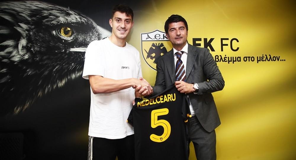 Ionut Nedelcearu defensorem AEK-u!