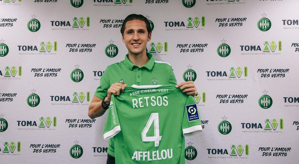 Panagiotis Retsos w AS Saint-Étienne!