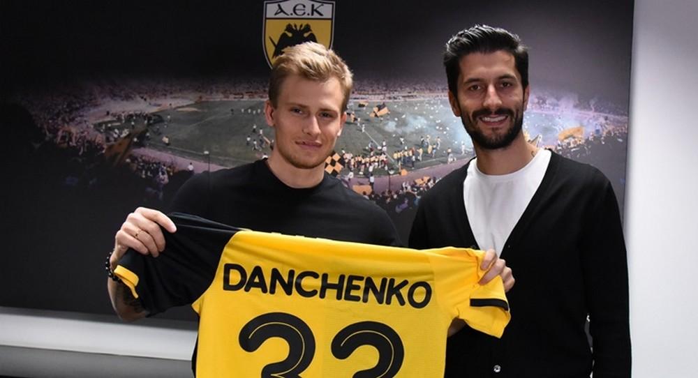 Ołeh Danczenko wzmacnia AEK Ateny!